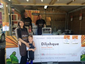 Dilishque Curry paste at Huddersfield Food & Drink Festival 2015